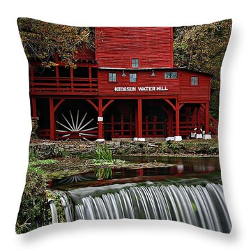 Ozarks Mill Throw Pillow