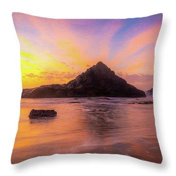Pacific Northwest Paradise Throw Pillow