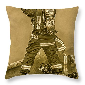 Packing Up Throw Pillow