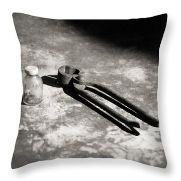 Throw Pillow featuring the photograph Painless Dentistry by Carl Young