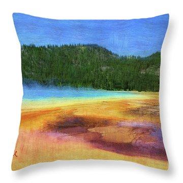 Painting #5 Throw Pillow