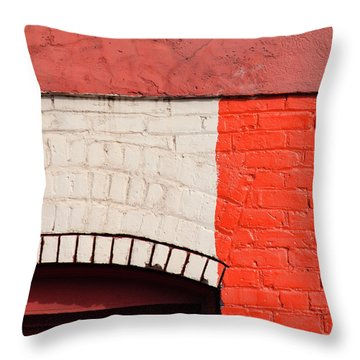 Painting The Town Red Number 2 Throw Pillow