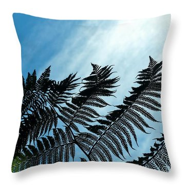 Palms Flying High Throw Pillow