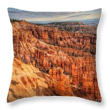 Panorama Bryce Canyon Utah  Throw Pillow