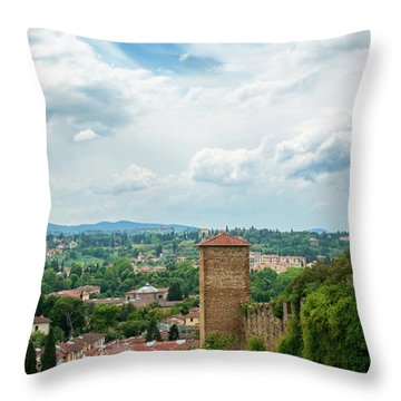 Florence From The Garden Of The Knight Throw Pillow