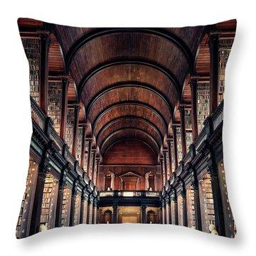 Paperworld Throw Pillow