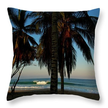 Throw Pillow featuring the photograph Paraiso by Nik West