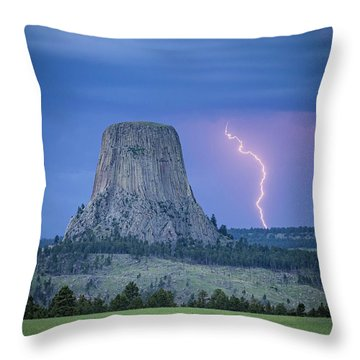 Parallel The Tower Throw Pillow