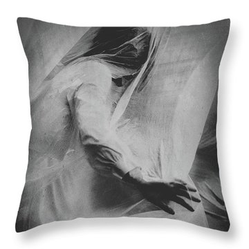 Throw Pillow featuring the photograph Parasomnia by Susan Maxwell Schmidt