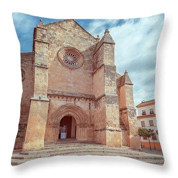 Parish Of Santa Marina Cordoba Spain II Throw Pillow