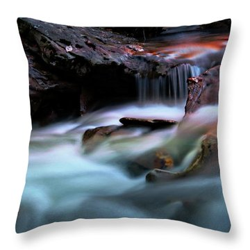 Passion Of Water Throw Pillow