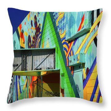 Throw Pillow featuring the photograph Paste by Skip Hunt