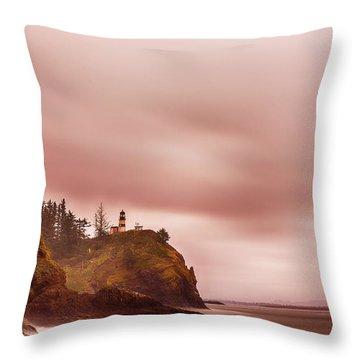 Pastel Seascape Throw Pillow