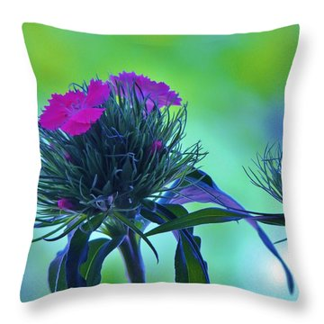 Pastel Spring Throw Pillow