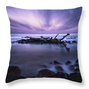 Pastel Tranquility Throw Pillow