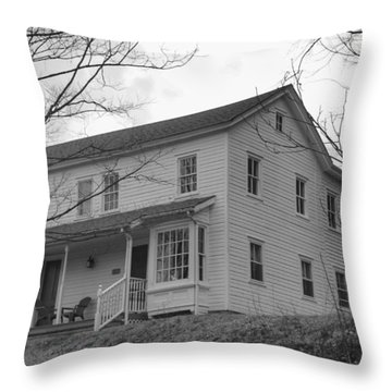 Pastors House - Waterloo Village Throw Pillow