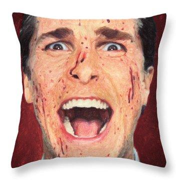 Patrick Bateman Throw Pillow
