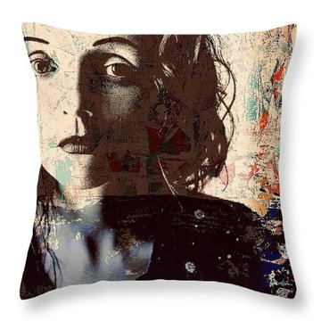 Patty Griffin Throw Pillow