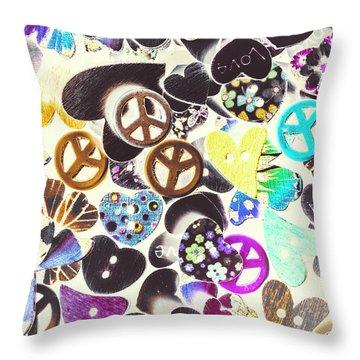 Peace Revival  Throw Pillow