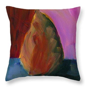 Pear #2 Throw Pillow