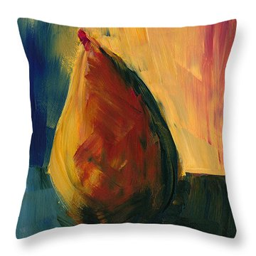 Pear #3 Throw Pillow