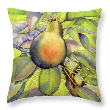Pear Of Paradise Throw Pillow