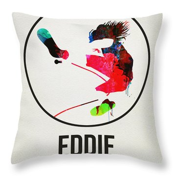Pearl Jam Watercolor Throw Pillow