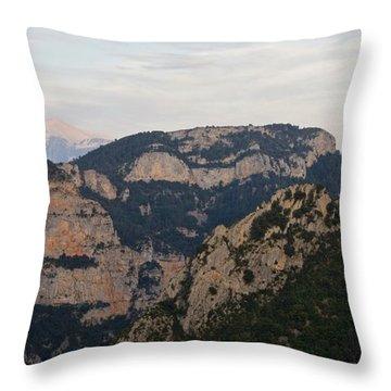 Pena Montanesa  Throw Pillow