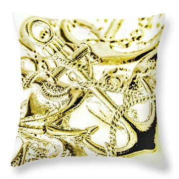 Pendant Port Throw Pillow
