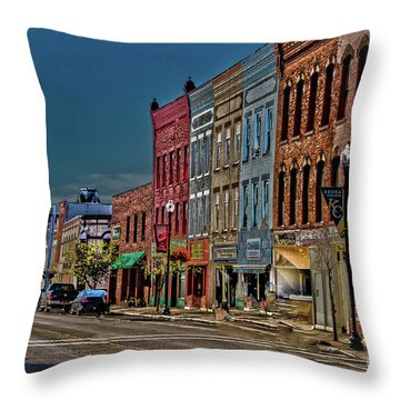 Throw Pillow featuring the photograph Penn Yan by William Norton