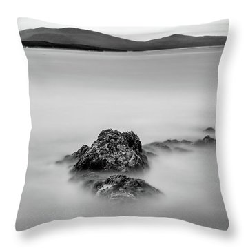 Throw Pillow featuring the photograph Penobscot Bay Tranquility by Rick Berk
