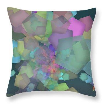 Pentagon Simply Throw Pillow