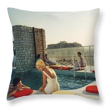 Swimwear Throw Pillows