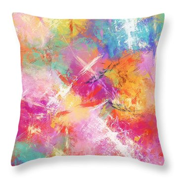 Perfect Contentment Throw Pillow