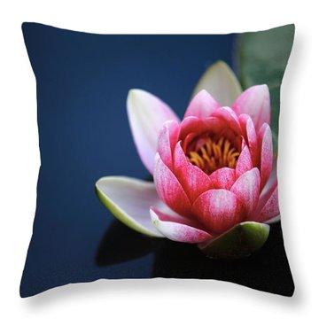 Perfect Lotus Throw Pillow