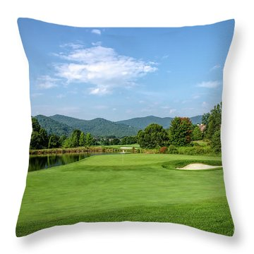 Perfect Summer Day Throw Pillow