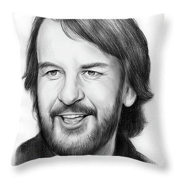 Peter Jackson Throw Pillow