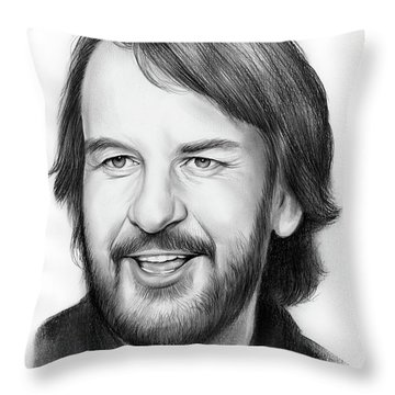 Peter Jackson Throw Pillow