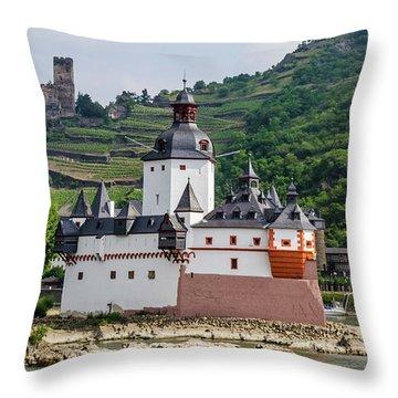 Pfalzgrafenstein Castle Throw Pillow