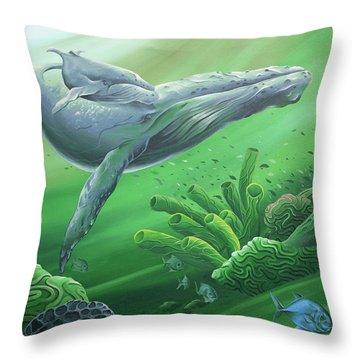 Phathom Throw Pillow