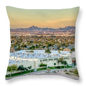 Phoenix Vibe Throw Pillow