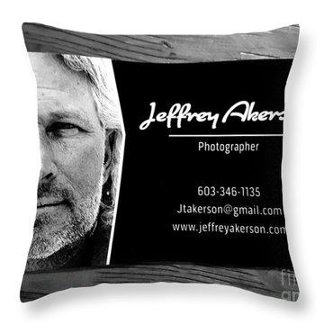 Photographer  Throw Pillow