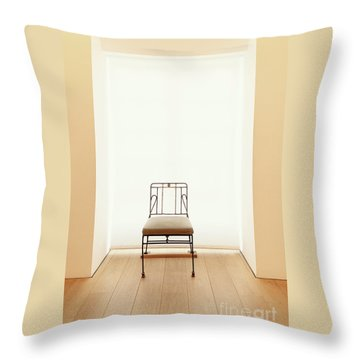 Picasso's Museum Chair Throw Pillow
