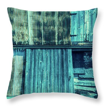 Pieces Of The Past Throw Pillow