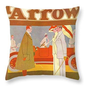 Pierce-arrow Advertisement Throw Pillow