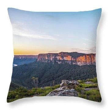 Pierces Dawn Throw Pillow