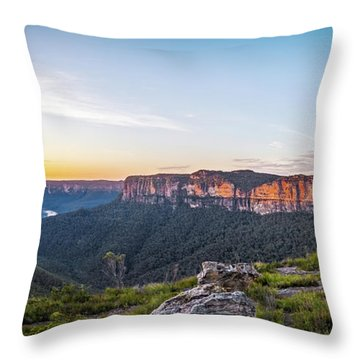 Pierces Dawn Throw Pillow