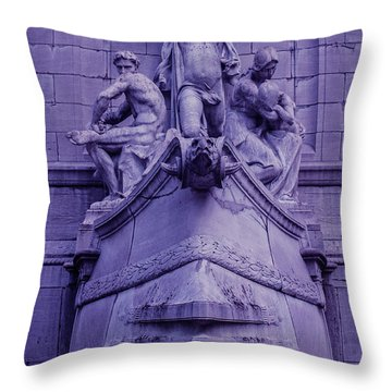 Pigeon Placement Throw Pillow