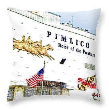 Pimlico Throw Pillow