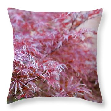 Pink Fairy Tale Throw Pillow